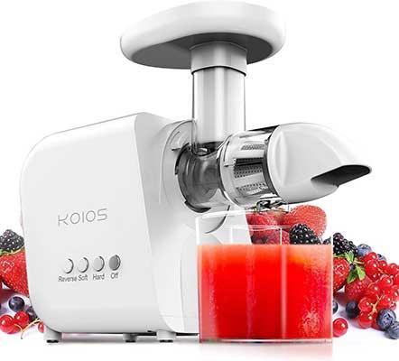 KOIOS Masticating Cold Press Juicer Machine