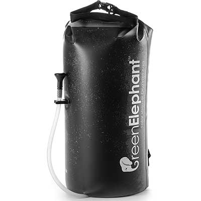 Green Elephant 2-in-1 Portable Shower &Dry Bag