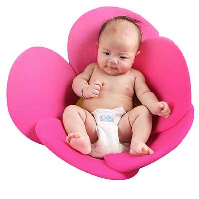 vocheer Flower Baby Bath