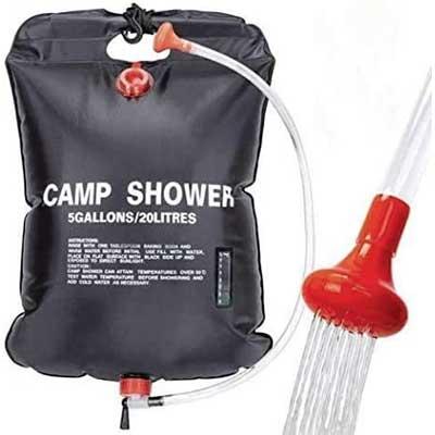 VIGLT Portable Shower Bag for Camping