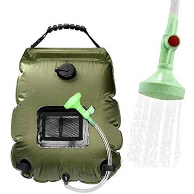 WEIYII Camping Shower Bag Portable Shower