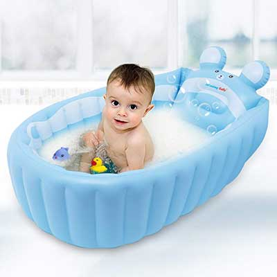 Relaxing Baby Inflatable Baby Bath Tub
