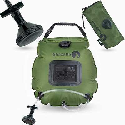 Ghazalla Solar Shower Bag- Portable Shower