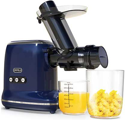 ORFELD Slow Juicer Machine for Veggies and Fruits