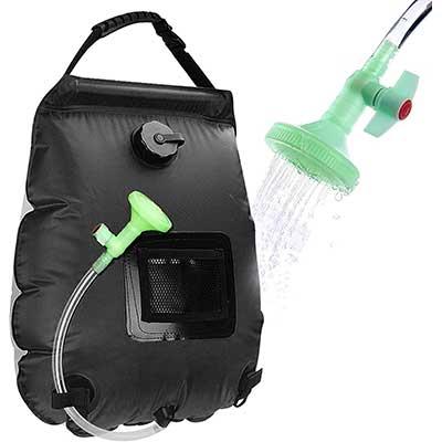 Beaucares Camping Shower Bag
