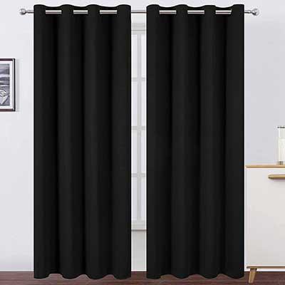 LEMOMO Blackout Curtains 52 x 84 inches