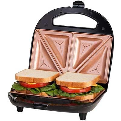 GOTHAM STEEL Sandwich Maker, Toaster