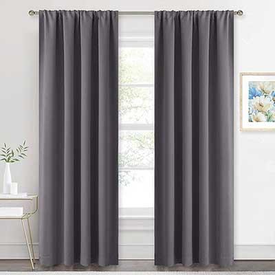 RYB HOME Blackout Curtains Draperies