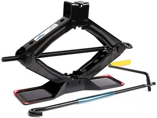 Lead Brand Black Steel Scissor Jack