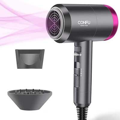Ionic Hair Dryer, Portable Lightweight Blow Dryer